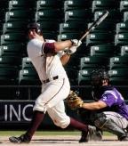 Home runs keep flying off Paul Goldschmidt's bat.