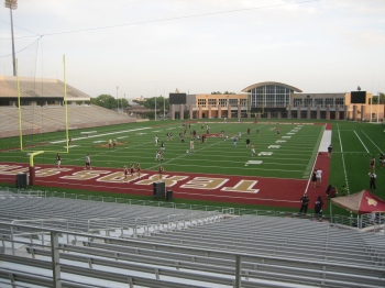 Here is the site of the Maroon and Gold Spring Game.