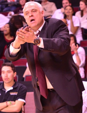 Texas State head coach Doug Davalos went 92-107 in seven years with the program.