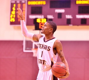 Former guard Vonn Jones had a solid season in 2012-13 for Texas State.