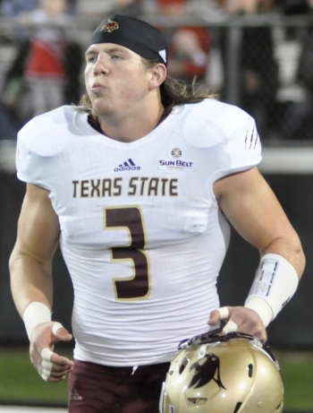 David Mayo had a fantastic season for Texas State in 2013.